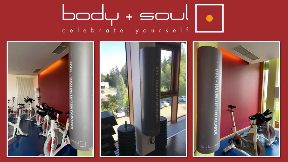 TBRS-1 Raumluftentkeimung body&soul